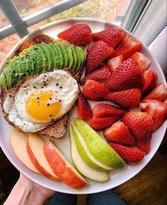 Healthy Meal Prep, Healthy Breakfast Recipes, Healthy Snacks, Healthy Eating, Healthy Recipes, Breakfast Meals, Healthy Tips, Manger Healthy, Plats Healthy