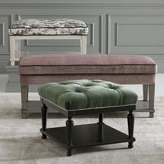 HGTV Home Custom Bench with Shelf by Bassett Furniture can be customized with over 1,000 fabric options.