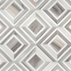 Dolomite, Skyline Vein Cut Multi Finish Yildiz Marble Mosaics 8 13 ...