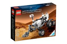 LEGO's NASA Mars Science Laboratory Curiosity Rover set will be released for sale online on Jan. 1, 2014.