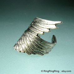 925. Archangel style No.2  Sterling Silver ear by RingRingRing, $45.00