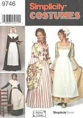 Colonial Pilgrim Costumes and Hats
