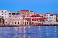 The Chania old town is the most photographed spot of the city. It a mix of Cretan, Venetian and Ottoman elements with wonderful architecture.