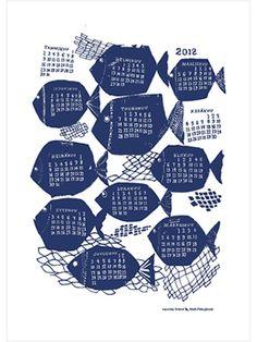 calendar by kauniste, designed by Matti Pikkujämsä