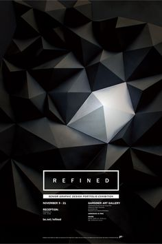 REFINED Exhibition Poster in Poster                              …