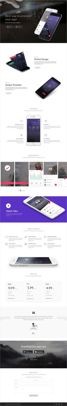 San is a wonderful responsive #App #Landing #Page #WordPress Theme built with Visual Page builder and bootstrap download now➩ https://themeforest.net/item/san-responsive-app-landing-page-wordpress-theme/17734862?ref=Datasata