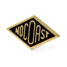 No Coast Pin