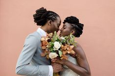 1 Nola New Orleans Fall Wedding Ace Hotel Loc Bride Groom Wedding Pics, Wedding Couples, Dream Wedding, Wedding Ideas, Wedding Bells, Fall Wedding, Black Brides Hairstyles, Wedding Hairstyles, Natural Hair Salons