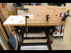 Tricked out Black & Decker Workmate and Bench Bull Accessory - YouTube