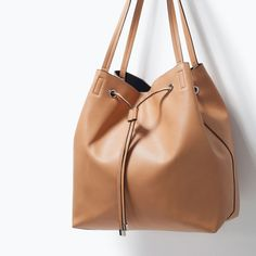 ZARA: shopper | LEATHER TOTES | Pinterest | Shopper bag