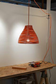 #Design #Lamp COIL PENDANT - Craighton Berman Studio