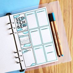 This is such an amazing idea for the bullet journal! Every year I get more organized and I love it! Can't wait to try this idea in my own planner! Bullet Journal 2019, Bullet Journal School, Bullet Journal Ideas Pages, Bullet Journal Spread, Bullet Journal Inspo, Bullet Journal Layout, My Journal, Journal Pages, Journal Inspiration