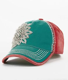 My kind of ball cap...Olive & Pique Bling Baseball Hat - 's | Buckle