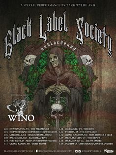 Hard rock legends BLACK LABEL SOCIETY, fronted by guitar icon ZAKK WYLDE, have announced the Unblackened tour. Originally performed as a one night only concert at Club Nokia in Los Angeles for a li...