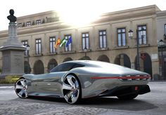 A super cool Maserati concept car!