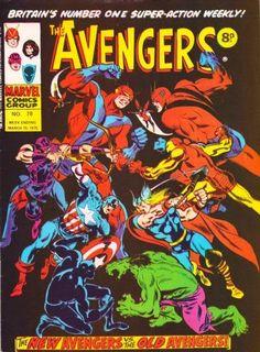 Marvel UK, Avengers #78, old vs new
