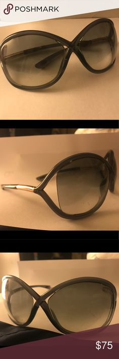 0ada4ddfb8431 Tom Ford Whitney Sunglasses Very used Tom Ford Whitney Oversized Round  Sunglasses. Authentic. Shiny