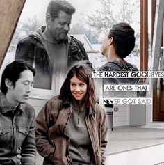 "Glenn & Abraham Ford | S7E1 ""The Day Will Come When You Won't Be"" 