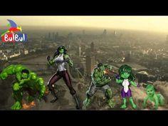 Nursery Songs 789 | Team Umizoomi-Christmas Minions-Hulk -Bear Finger Fa...