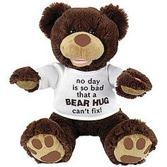Animated Bear Hug Plush!