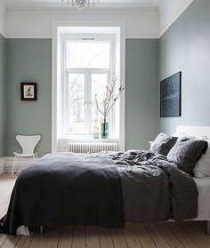 sovrum grönt