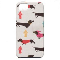 Sassy dachshund iPhone 5 cover