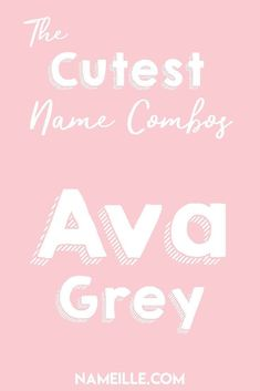 baby girl names Cute First and Middle Name Combinations. View name origins, meanings, spelling variations, similar names, and middle names. Discover the perfect name. Middle Names For Ava, Baby Girl Middle Names, Sweet Baby Girl Names, Pretty Girls Names, Baby Girl Names Unique, Cute Baby Names, Boy Names, Long Girl Names, Cute Girl Names Unique