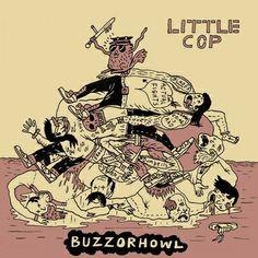 """BUZZorHOWL split 7"""" #2, by BUZZorHOWL"""