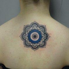 Conheça nossa super seleção com 55 fotos de tatuagens de olho grego impressionantes. Inspire-se!