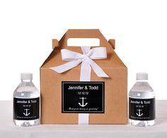 Gable Wedding Box Set of 24   Wedding Favor Box / by LabelsRus, $69.95