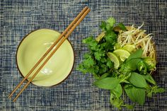 Ready for Vietnamese #vegetarian soup?  #basil #thaibasil #sprouts #corriander