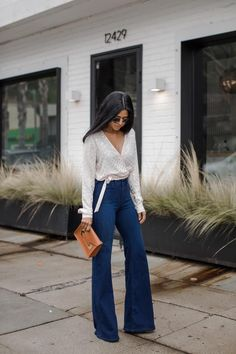 ab16be3ea277e You are about to see some of the best women s flare jeans outfits one can  find online