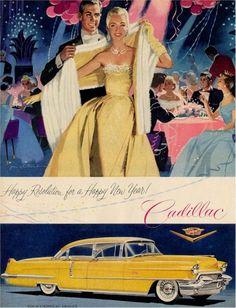 Cadillac - I enjoy old car advertisements.