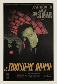 CLASSIC MOVIE POSTER The Third Man Movie by EncorePrintSociety