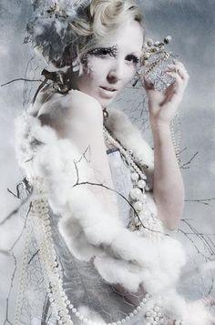 Snow Queen costume inspiration.