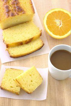 Ricotta Orange Pound Cake - an incredibly moist cake bursting with fresh orange flavor. | Kristine's Kitchen