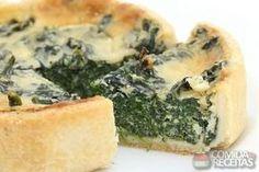 Receita de Quiche de brócolis e requeijão cremoso em receitas de tortas salgadas, veja essa e outras receitas aqui!