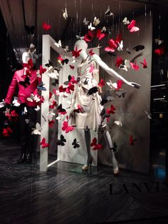 LK By Lincoln Keung: LANVIN Window Display - The LANDMARK - Hong Kong