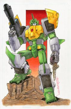 Autobot Springer - commission springer by markerguru on deviantART - Transformers
