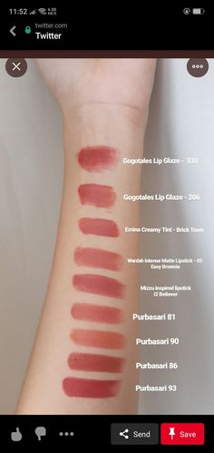 Glam Makeup, Skin Makeup, Beauty Makeup, Soft Natural Makeup, Lip Tutorial, Swatch, Aesthetic Eyes, Lip Cream, Lip Tint