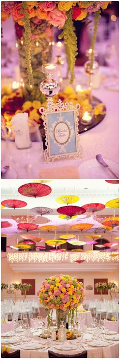 Table Arrangements For Wedding Receptions Elegant Flower | visit www.lovelyweddingideas.com