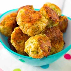 Cheesy broccoli bites from the new Healthy Mummy Book! - Kidgredients