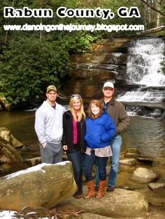 """One of our favorite """"photo opportunity"""" and """"wading in the stream"""" spots!"""