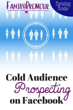 Understanding Cold Audience Prospecting on Facebook  Click to learn more about the details of Facebook Ads marketing  #facebook #marketing #marketingstrategy #marketingtips Facebook Business, For Facebook, Facebook Marketing, Social Media Marketing, Online Business, Business Goals, Business Tips, Social Media Tips, Cold