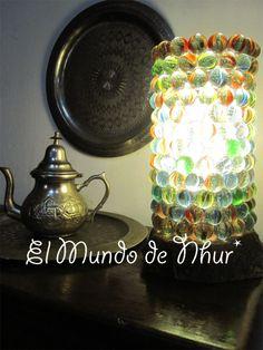 lampara con canicas decoracion 03