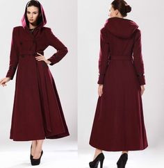One of our favorite cozy fall looks. Venus marled hooded duster ...