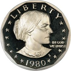 Susan B. Anthony coin, still used heavily at train stations in New York City