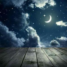 Resultado de imagem para good night forest moon