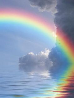 This is God's Token of the Everlasting Covenant that HE made to ALL flesh that HE would NOT flood the Earth again...so he put a Bow in the sky to remember. Genesis 9:11-17 KJV