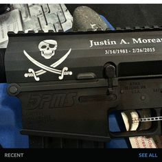 Another good example of engraving on an even surface. Note most lasers require the part to be as flat as possible to get a decent marking but not on the QM Plus Series high power lasers.#engraving#laserengraving#LaserCutting#deepengraving#LaserEtching#etching#marking#firearms#guns#knives#jewelry#jewelryrepair#QMSeries#AmazingSpeed#QM50PLUS#QMSerieslasers#rifles#glockteam#glockporn#glockgirls#glockperfection#jewellery by ztechlasers